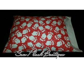 Christmas pillowcase, Santa, Santa Clause, Cotton pillowcase, Christmas gifts, Red and white Santa pillowcase