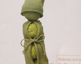 Mr Pea Pod Knitting Pattern