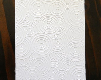 Swirl Pattern, Swirl Clouds, Swirl Waves, Embossed Cardstock, Embossed Sheets, Embossed Card Fronts