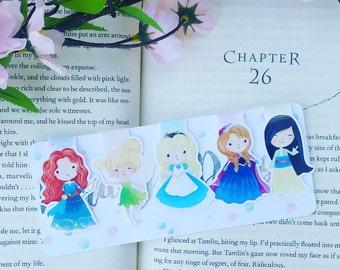 Princess Magnetic Bookmark- Set 3