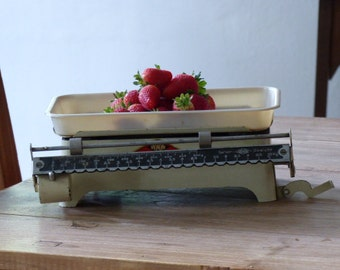 Vintage scale from the Lutherstadt Wittenberg / vintage