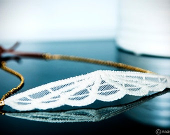 Embroidery, lace Crown tiara, Headband romantic grey white embroidered tulle accessory hand made lace romantic hairstyle
