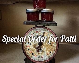 Special Order: Raspberry Jam Wedding Favors