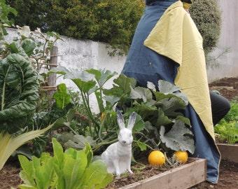 Silk Quilt 170 x 120 cm - Storm and Lemon