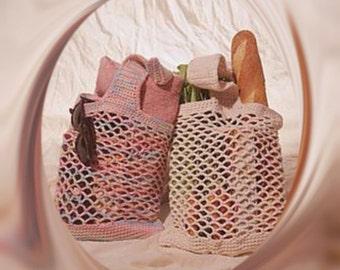 Crochet jute bag Etsy