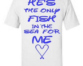 Custom Fish in the Sea T shirt