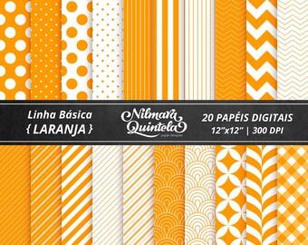 Basic Papers Kit - Orange