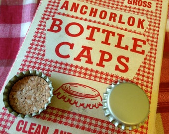 Anchorlok Bottle Caps, One Gross box of Soda Bottle Caps, Home Brew Beer Bottle Caps #cc1