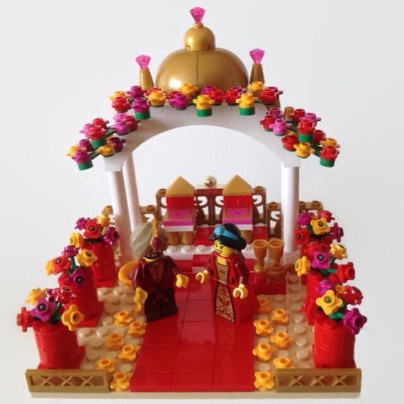 indian wedding cake toppers uk lego indian asian hindhu mandap wedding cake topper 16427