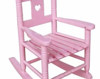 Children's Rocking Chair - Personalised