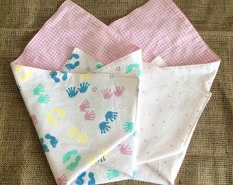 Stillborn blanket, Angel baby blanket, Bereavement gift, small baby blanket, miscarriage blanket - BABY GIRL
