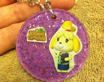 Cosplay isabelle animal crossing new leaf necklace