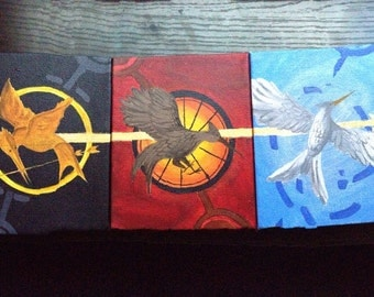 The Hunger Games Canvases
