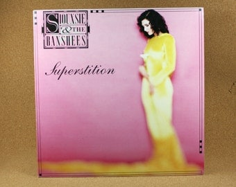 Souxsie and The Banshees - Superstition Album - 1991 Alternative Rock Record - Near Mint Condition