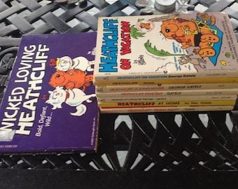 Set of 8 Heathcliff comics