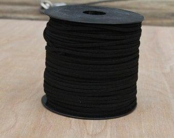 10 yards suede cord, faux suede cord, black suede string, jewelry string, jewelry suede cord