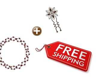 Purchase Hair Wreath and Hair Pin to Get Free Shipping