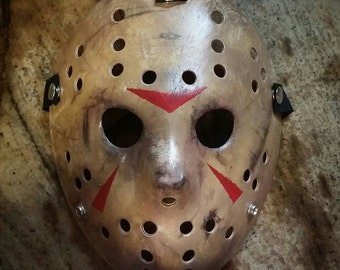 Friday the 13th: Part 3 Jason Mask Replica