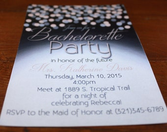 Bachelorette Party Invitation -Digital