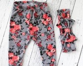 baby girl clothes - baby girl leggings -...