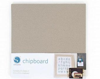 Silhouette America Chipboard  12 - 12 x 12  Sheets