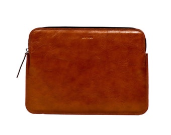 Macbook Sleeve - cognac