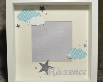 Custom, custom 3D photo frame