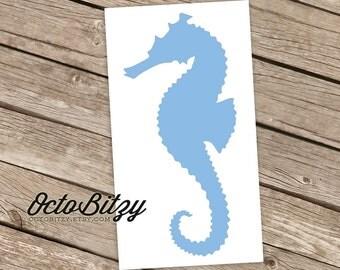 Seahorse Vinyl Decal Sticker