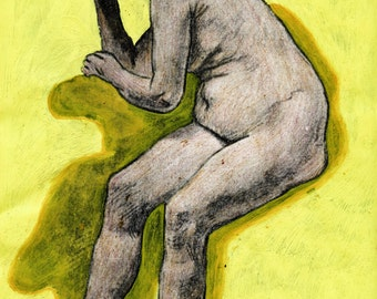 old nude woman