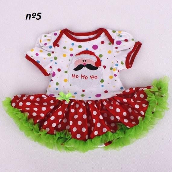 Christmas newborn clothing set baby doll reborn clothing cotton cute