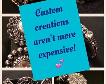 TrackerStackers Charms: Custom Orders AREN'T More Expensive! Bracelet Cover Enhancer Silver for FitBit Flex Charge Surge Jawbone Up Garmin
