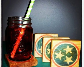 Tennessee Tri Star Coasters
