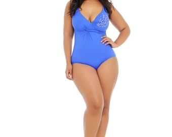 VOLUPTUOUS SWIMSUITS, one piece for the most gorgeous and curvy woman, plus size