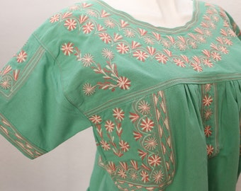 TLAHUI Mint one size blouse