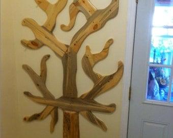 coat tree, coat rack, coat organizer, hat rack, wall rack, cedar wall pegs, #organizer, #coat rack, #hat rack