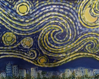 HOLLYWOOD STARRY NIGHT