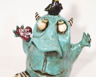 Whimsical Best Friends Monster Figure