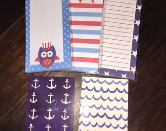 Nautical Memo Pads / Journals