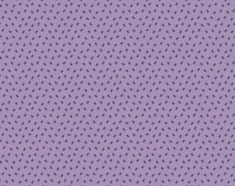 "Riley Blake Designs ""Happy Haunting"" by Deena Rutter Purple Spiders"