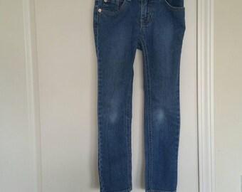 Little Girl Est 89 Jeans Size 6x/7 skinny stretch