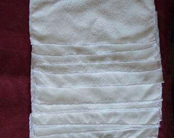 Set of 15 Super Soft Microfleece Reusable & Wasable Cloth diaper Liners