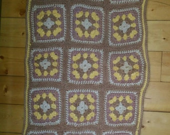 Vintage 50's handmade crochet rug. Make me an offer!