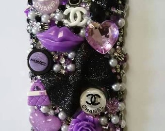 Purple 3-D phone case for Galaxy Note 2