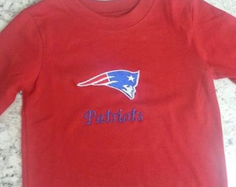 New England Patriots T-Shirt, New, children's, custom made