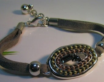 Faux suede Bracelet