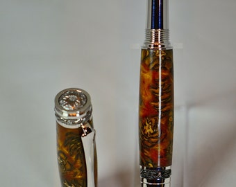 Custom Fountain Pen - Pine cone Body
