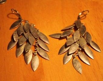 Silver Earthy Earrings