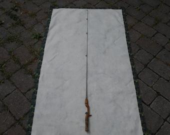 1930's Solid Steel Fishing Rod