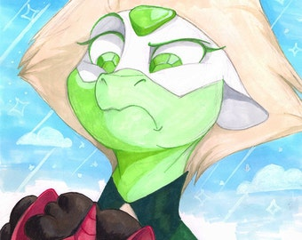 Pony Peridot (and Steven!)