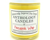 Pineapple Whip Candle - Whimsically Inspired Pineapple Float Candle, Scented Soy Candle, 8 oz Jar